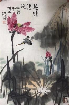 王炳龙作品,软片,尺寸开三