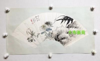 王雪涛精品扇面